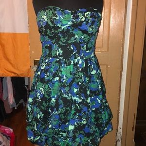 Vintage torrid strapless party dress